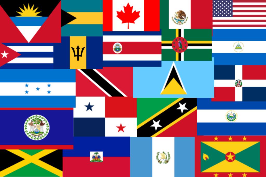 North America Flags Quiz